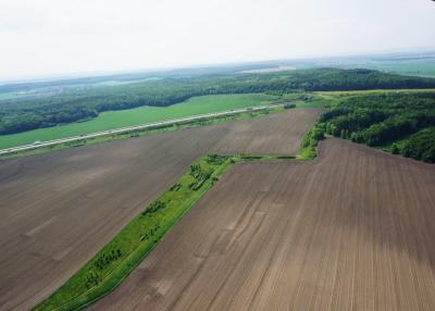 Propojení biokoridorů BK – 4 aBK – 6 vkatastrálním území Žehuň.png