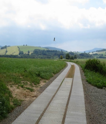 Polní cesta Dolní Morava - po realizaci'
