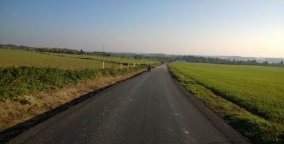 Polní cesta Hřibojedy - po realizaci'