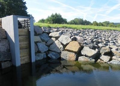 Vodní nádrž Horní Lipka - po realizaci'