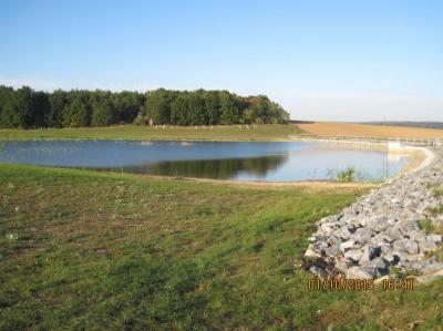 Vodní nádrž Mohleno - po realizaci'